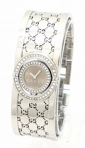 Gucci Gucci YA112 11012504 Stainless Steel & Diamond Watch