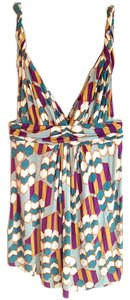 T-Bags Los Angeles Plunge Grecian Top Multi