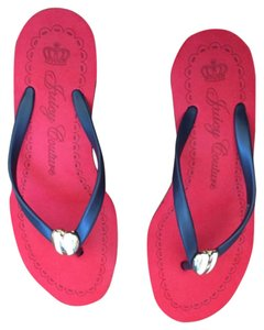 Juicy Couture Red white blue Sandals