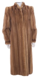 Saga Furs Mink Full Length Fur Coat