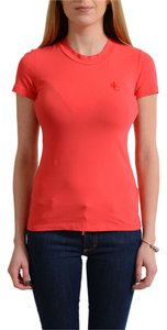Versace Top Coral Red