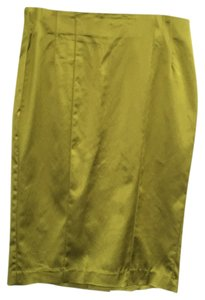 bebe Pencil Shimmer Skirt Shimmermoss