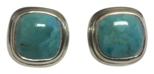 Other Turquoise Stud 925 Sterling Silver Earrings