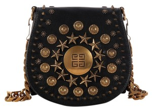 Givenchy Gv.k0318.08 Flap Studded Lambskin Leather Shoulder Bag