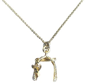 Juicy Couture JUICY COUTURE HORSESHOE NECKLACE GOLD