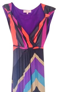 Purple, black, blue and pink Maxi Dress by Marks & Spencer