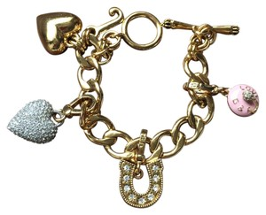 Juicy Couture LUCKY CHARM BRACELET JUICY COUTURE FREE CHARMS INCLUDED!
