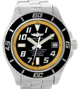 Breitling Breitling Superocean 42 Abyss Yellow Steel Mens Watch A17364