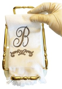 Other Guest Hand Towels ; Set of 4 Monogrammed