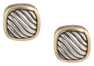 David Yurman Two Tone Albion Earrings