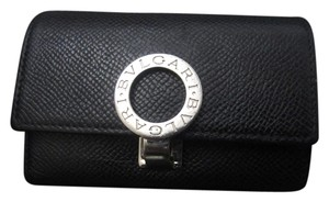 BVLGARI Bulgari Key Case Holder Wallet