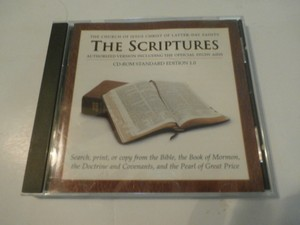 The Scritures The Church Of Jesus Crhist Of Latter Day Saints Cd Rom