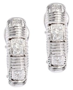 Roberto Coin Diamond Appassionata Earrings