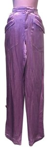 Joseph Baggy Pants Purple