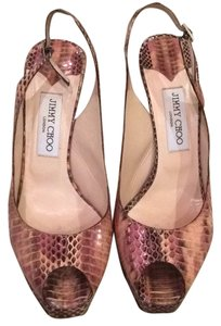Jimmy Choo Blush Platforms