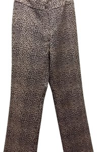 Straight C C C Casual Cool Eclectic Fun Straight Pants Animal Print