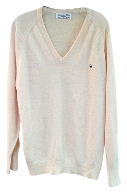 Dior Christian Boyfriend Slouchy Comfy Sweater Image 1