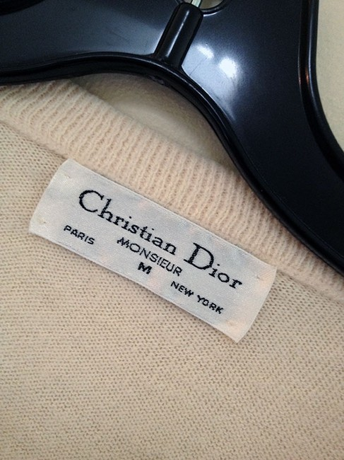 Dior Christian Boyfriend Slouchy Comfy Sweater Image 5