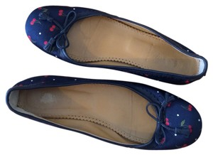 J.Crew Navy blue, red, green, white Flats