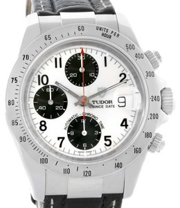 Tudor Tudor Tiger Woods Chronograph White Dial Steel Mens Watch 79273