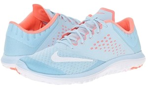 Nike Running Shoe Fitsole Ice- Light Blue & Coral Athletic