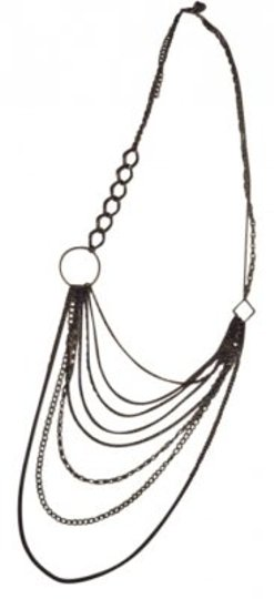 Preload https://item2.tradesy.com/images/antiqued-silver-multi-chain-necklace-141101-0-0.jpg?width=440&height=440