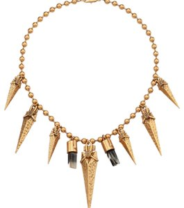 Tory Burch Arrowhead Bib Necklace
