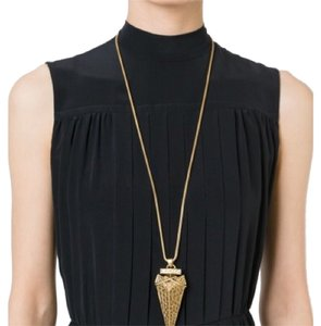Tory Burch Arrowhead Pendant Necklace