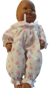 Other EXCELLENT SMALL DOLL BROWN WITH PIN FLORAL