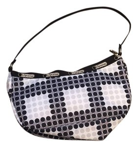 LeSportsac Wristlet in Black, White, Grey