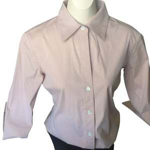 Theory Button Down Shirt Baby pink