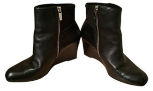Michael Kors Wedge Black Boots