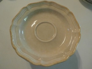 "New No Tags Mikasa "" 11 Saucers Plate Country Charm Fg 000"