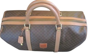 Céline Macadam Travel Duffle Travel Bag