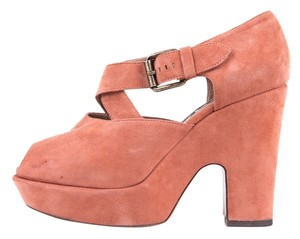 Rochas Dusty Rose Sandals