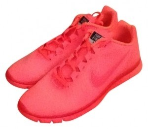 Nike Neon coral Athletic