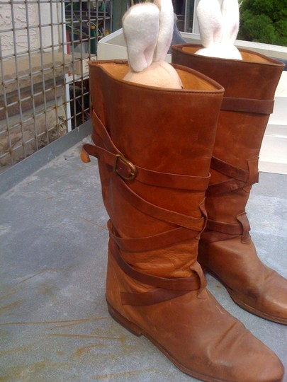 Joan & David Chestnut Boots