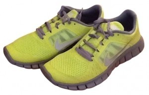 Nike Neon yellow and grey Athletic