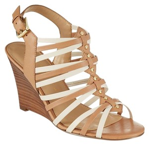Ivanka Trump Sandals Boo Brown Wedges
