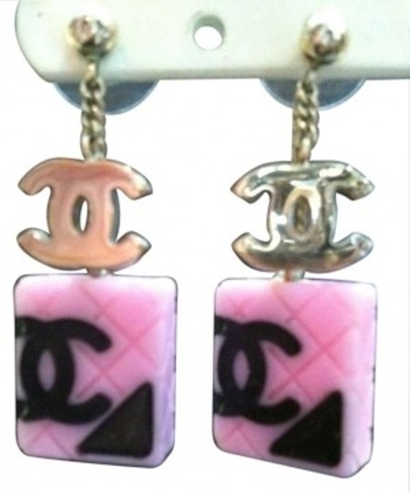 Preload https://item4.tradesy.com/images/chanel-pink-cambon-earrings-141138-0-0.jpg?width=440&height=440