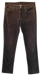 J.Crew Five Pocket Corduroy Straight Pants Brown