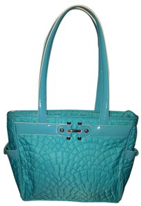 Vera Bradley Quilted Cotton Shoulder Bag