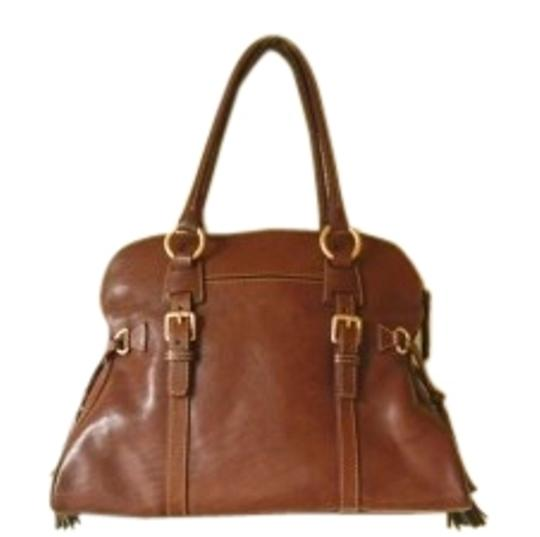 Preload https://item5.tradesy.com/images/dooney-and-bourke-florentine-domed-satchel-8l698-like-new-chestnut-leather-shoulder-bag-141144-0-1.jpg?width=440&height=440