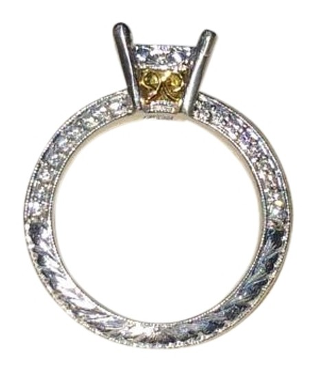 Preload https://img-static.tradesy.com/item/14114767/platinum-and-18k-yellow-gold-platinum18k-setting-engagement-ring-0-2-540-540.jpg