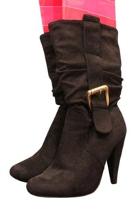 Other Blk suede Boots