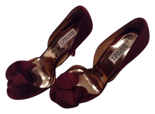 Item - Wine with A Rose On Top Formal Shoes Size US 7.5 Regular (M, B)