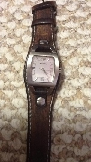 Fossil Leather strap fossil watch