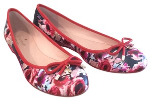 Kate Spade Floral Flats
