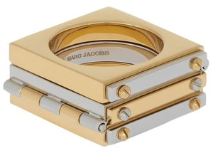 Marc by Marc Jacobs gold metal tone ring