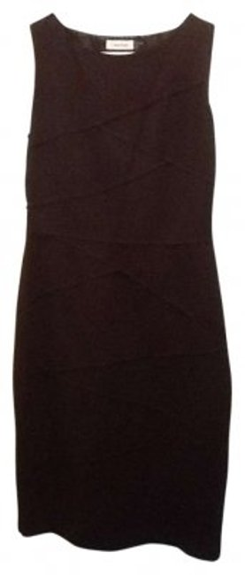 Preload https://item5.tradesy.com/images/calvin-klein-black-classic-fitted-knee-length-workoffice-dress-size-8-m-141154-0-0.jpg?width=400&height=650